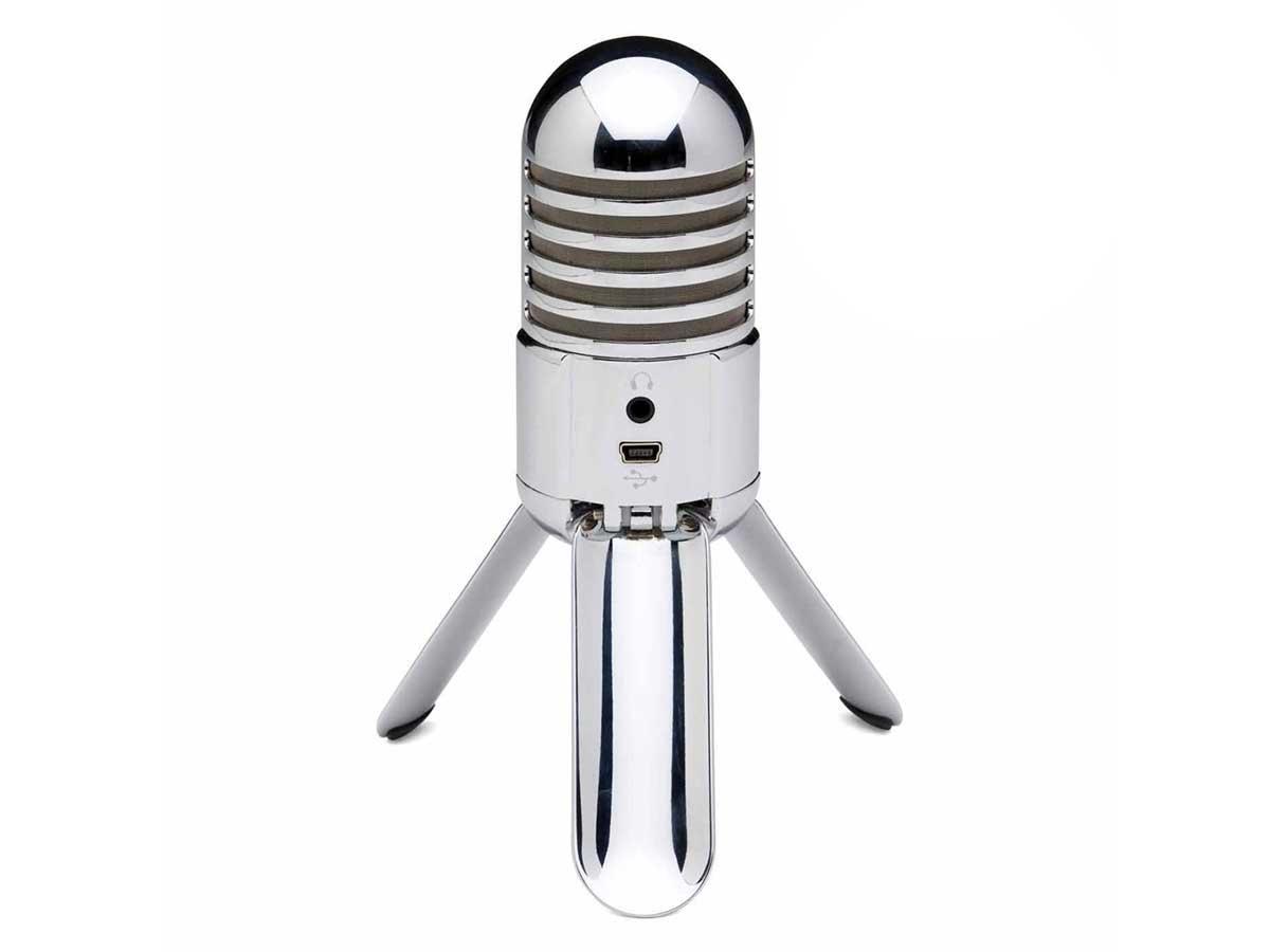 Microfone Condensador Samson Meteor Cardióide Para Voz Com Interface USB Integrada
