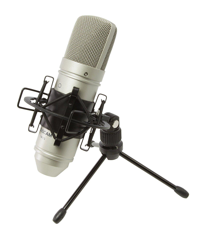 Microfone Condensador Tascam TM-80  - Diafragma Grande