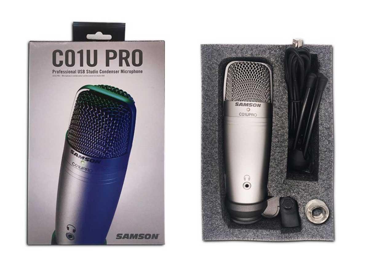 Microfone Condensador USB Samson C01U Pro