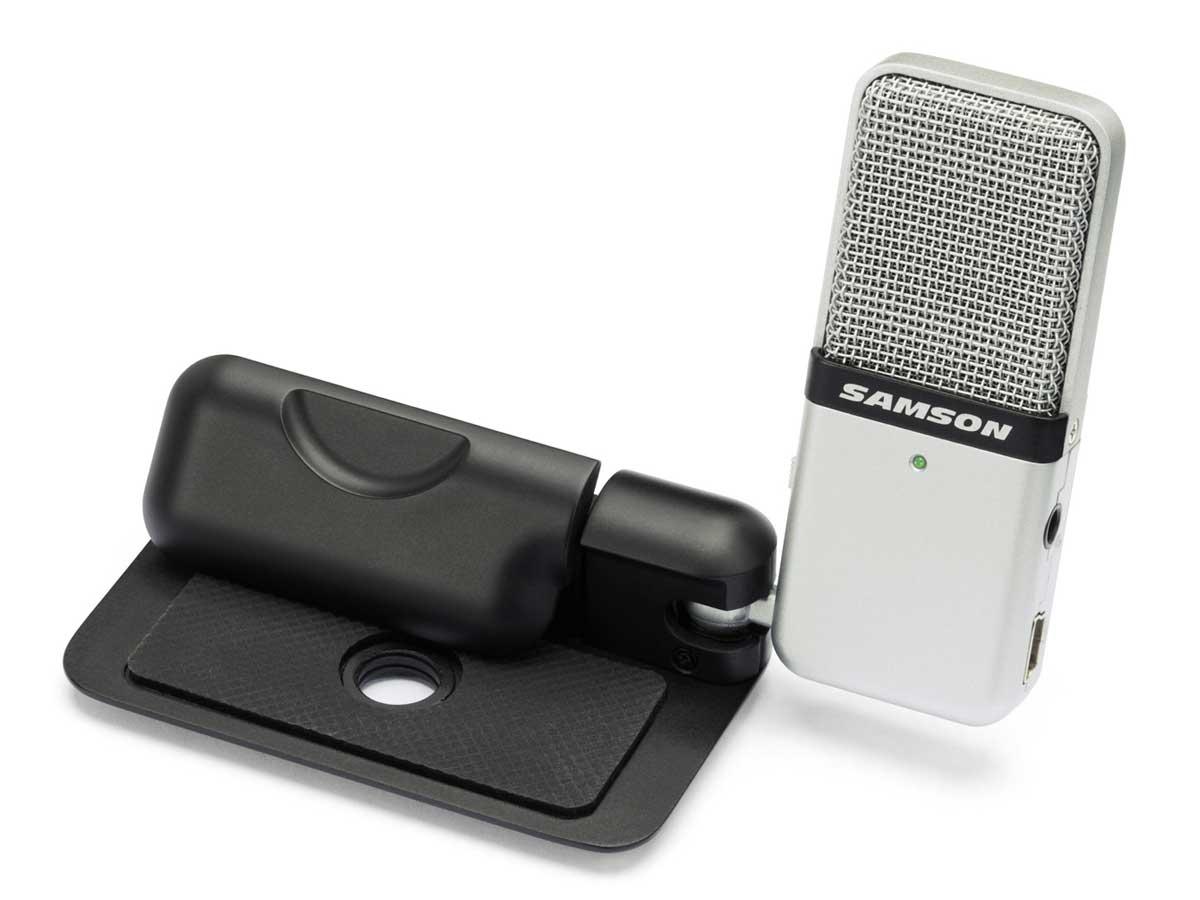 Microfone Condensador USB Samson Go Mic
