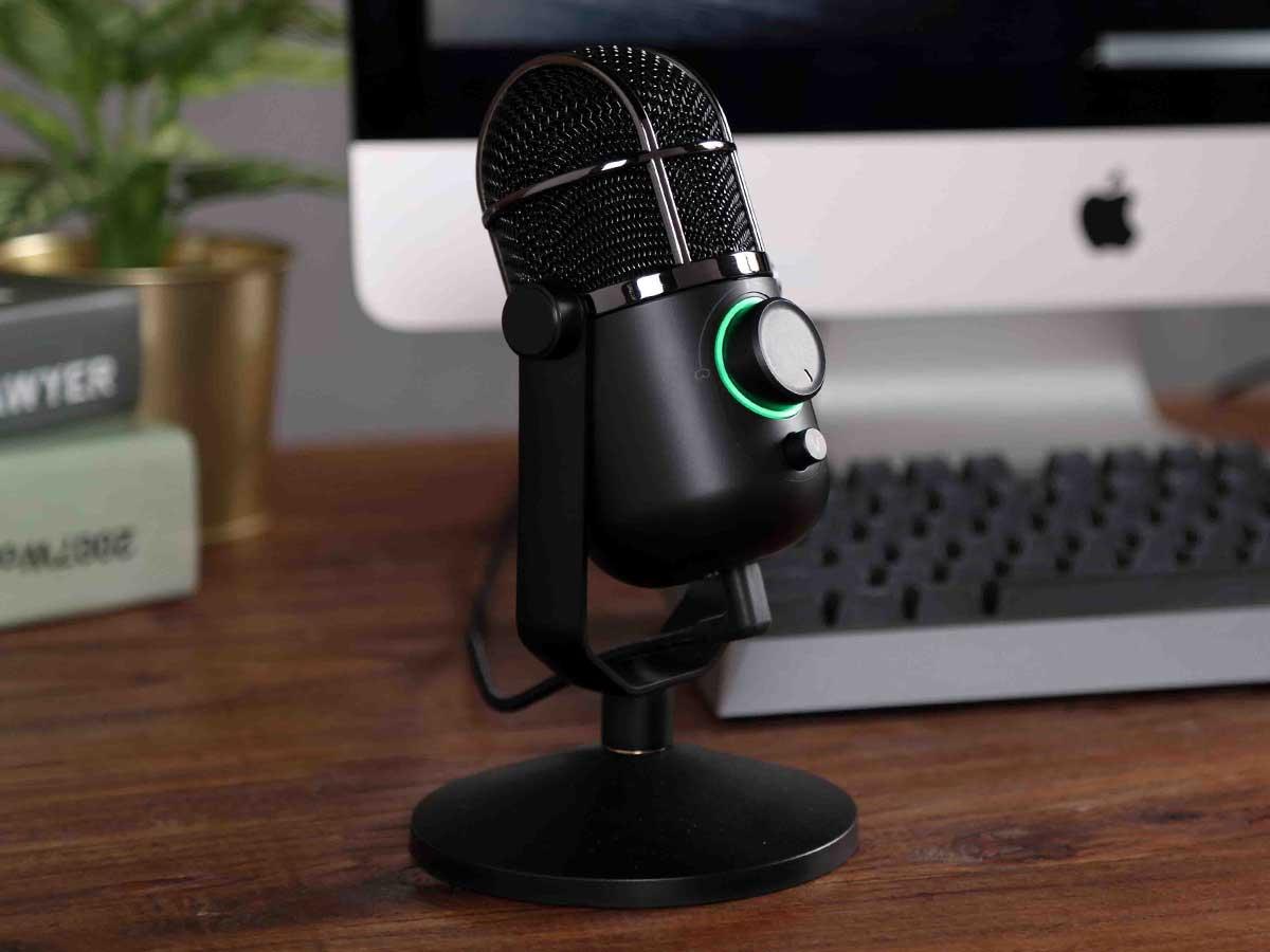 Microfone Condensador USB Thronmax MDrill Dome