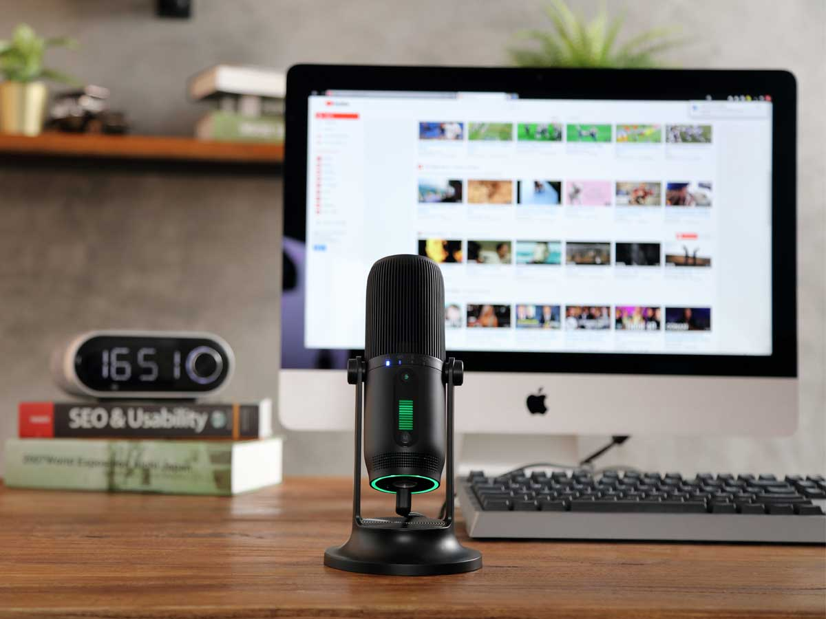 Microfone Condensador USB Thronmax MDrill One