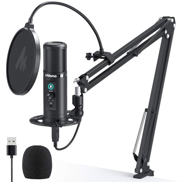 Microfone Condenser Maono USB AU-PM422