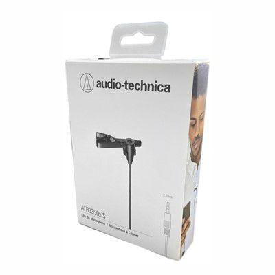 Microfone de Lapela Audio Technica ATR3350xiS - Novo modelo