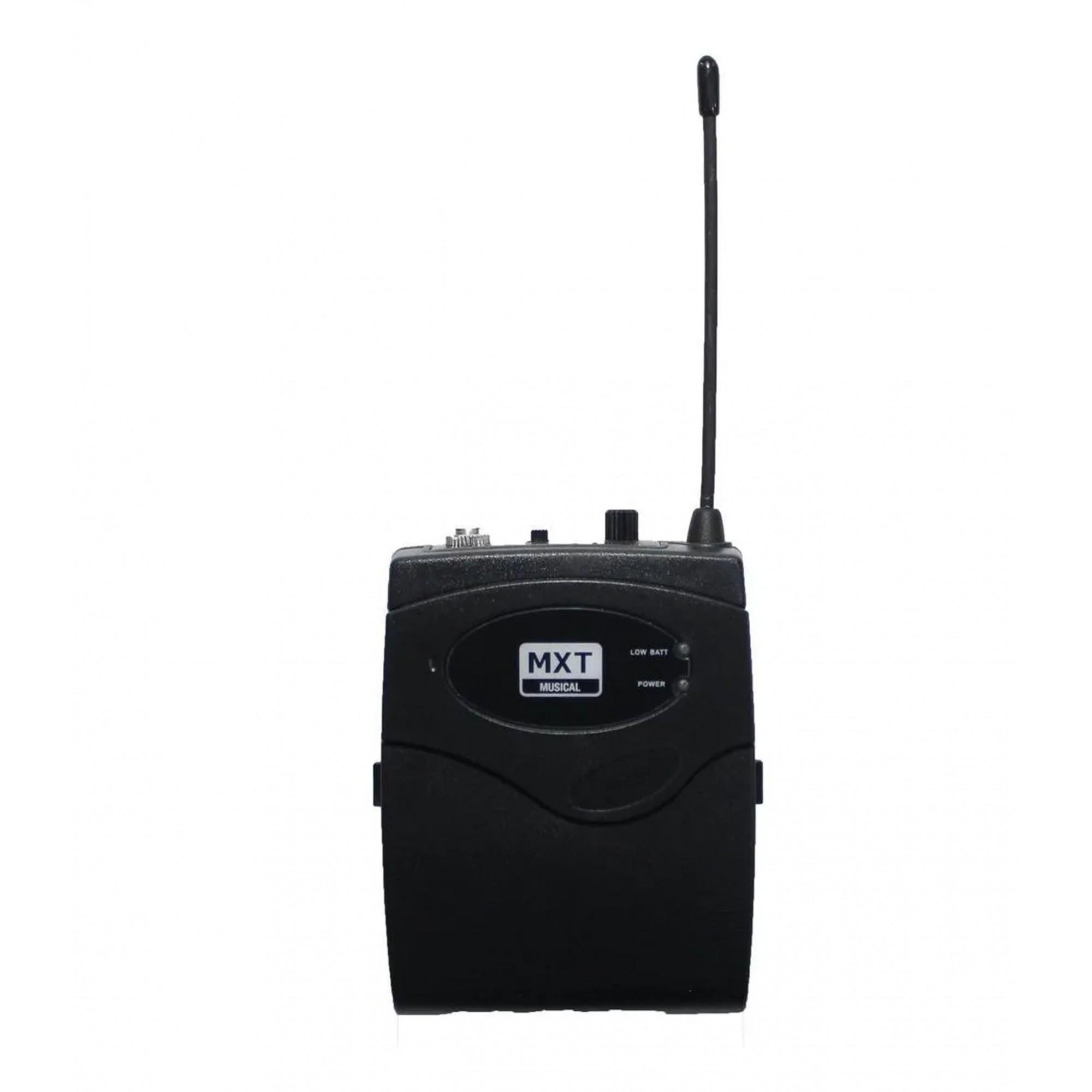 Microfone de Lapela Headset sem fio MXT UHF-10BP