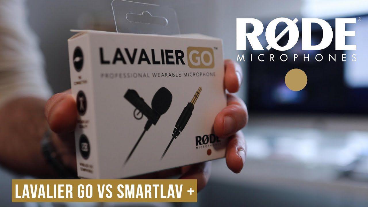 Microfone de lapela profissional Rode Lavalier Go