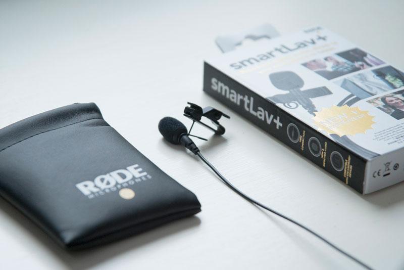 Microfone de Lapela Rode Smartlav+ - Lapela para smartphones '