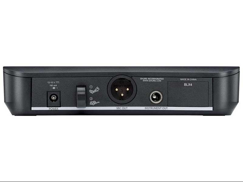 Microfone Sem Fio Shure SM58 - BLX24/SM58