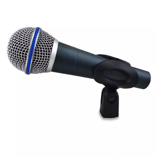 Microfone Dinâmico MXT Pro BTM-58A beta sm58 Com Cabo