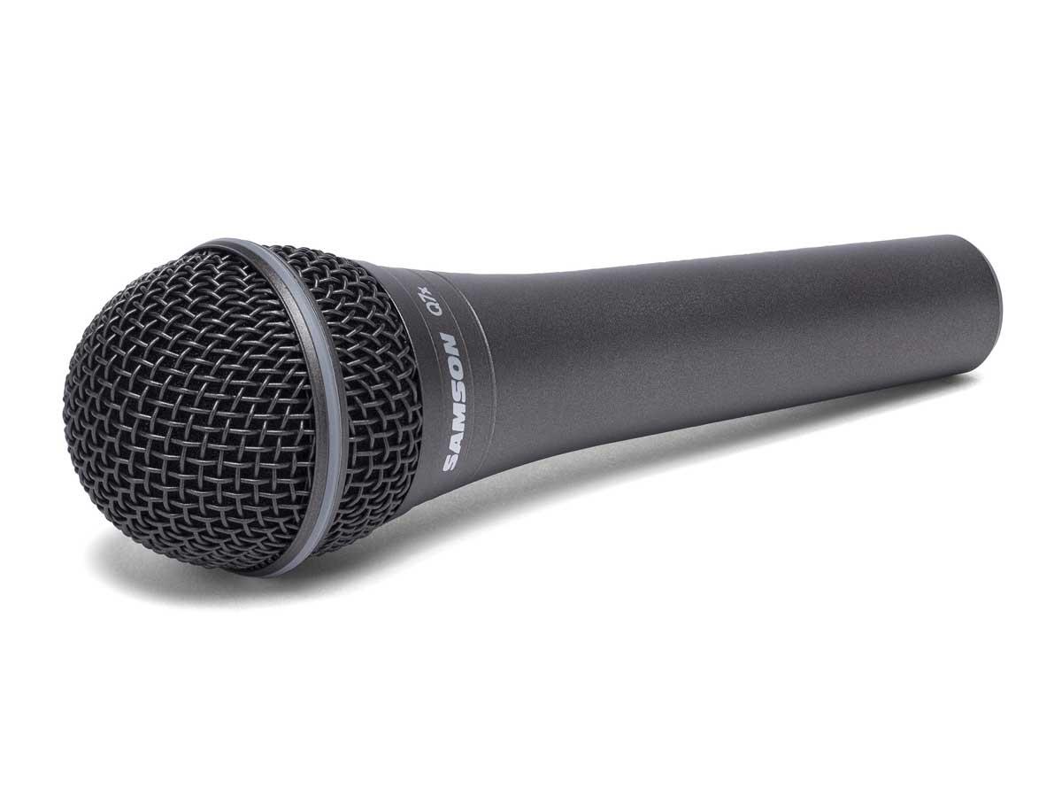 Microfone Dinâmico Profissional Samson Q7x
