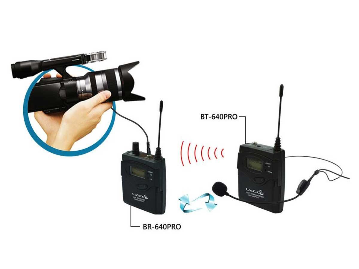 Microfone Headset para Câmera DSLR Lyco WCS-01 - Compatível com lapela