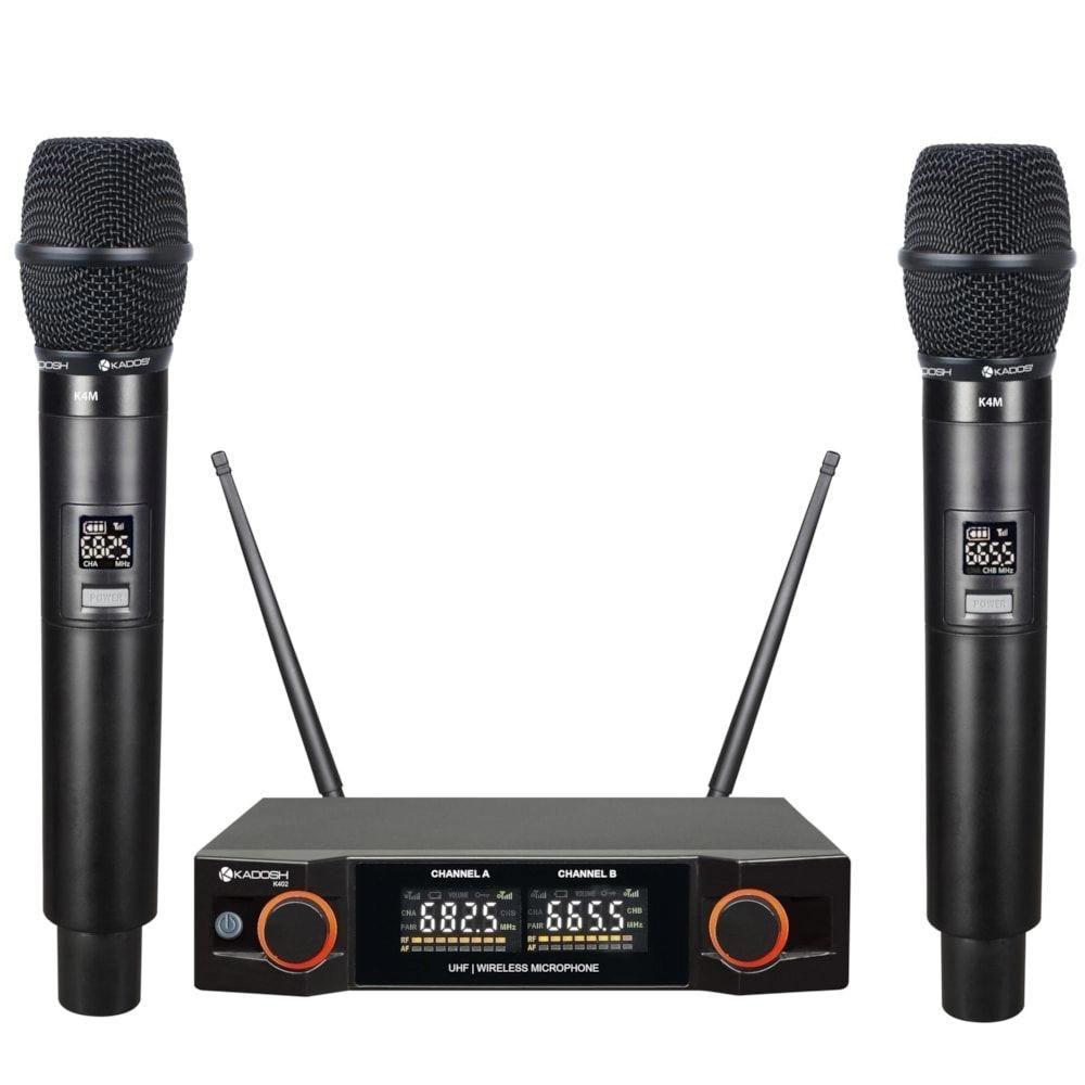 Microfone Kadosh Sem Fio KDSW- 402M