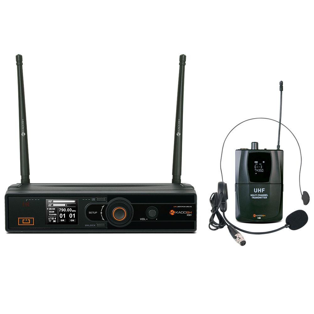 Microfone Headset Kadosh Sem fio KDSW-501H