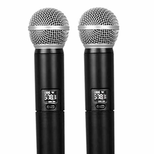 Microfone Lexsen Sem Fio UHF LM-258U-PLL