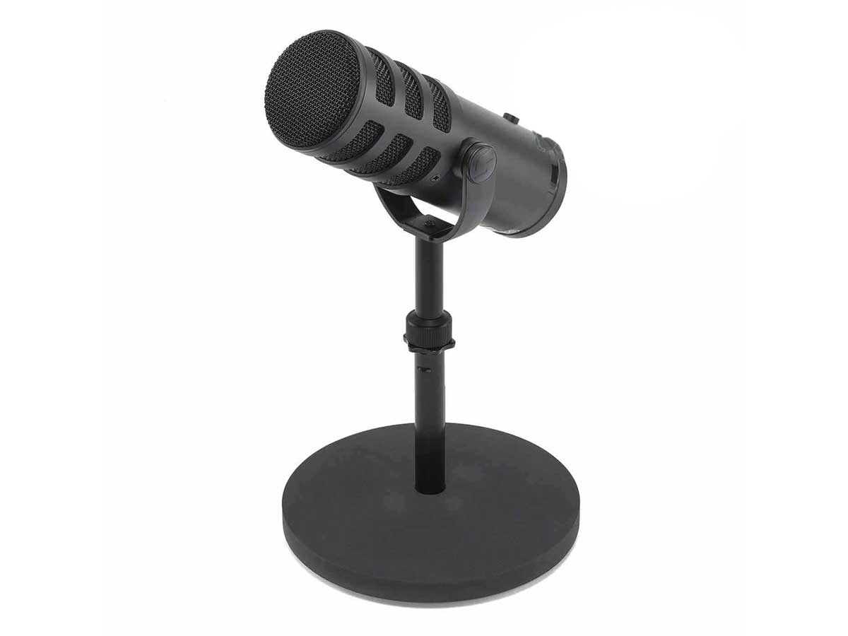 Microfone Profissional Samson Q9U para Podcasts e Streaming