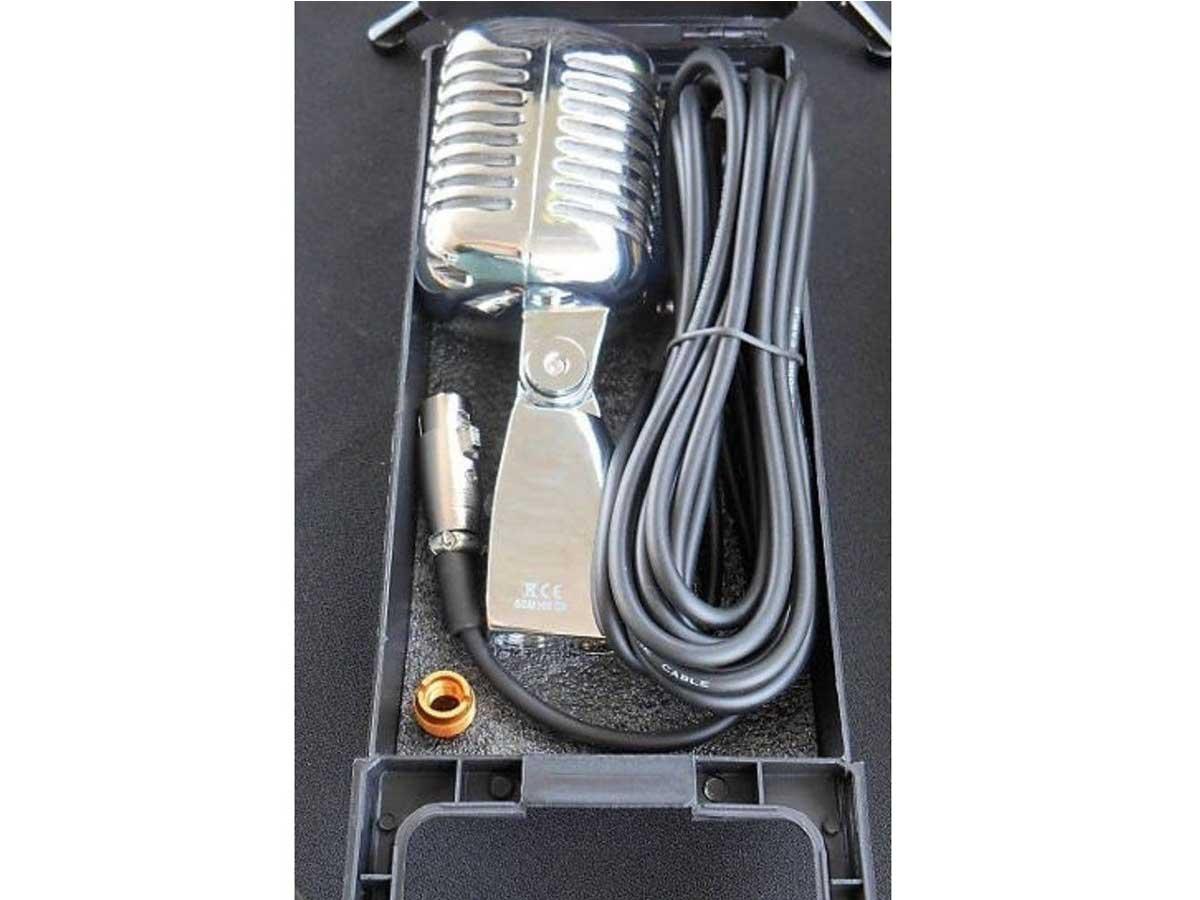 Microfone Profissional Vintage Stagg SDM100 CR