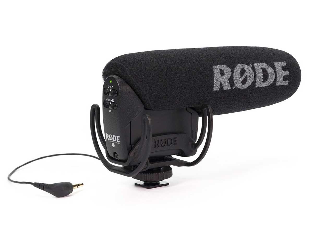 Microfone Rode VideoMic Pro para Câmeras '