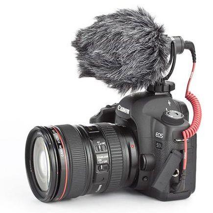Microfone Rode VideoMicro para câmera DSRL