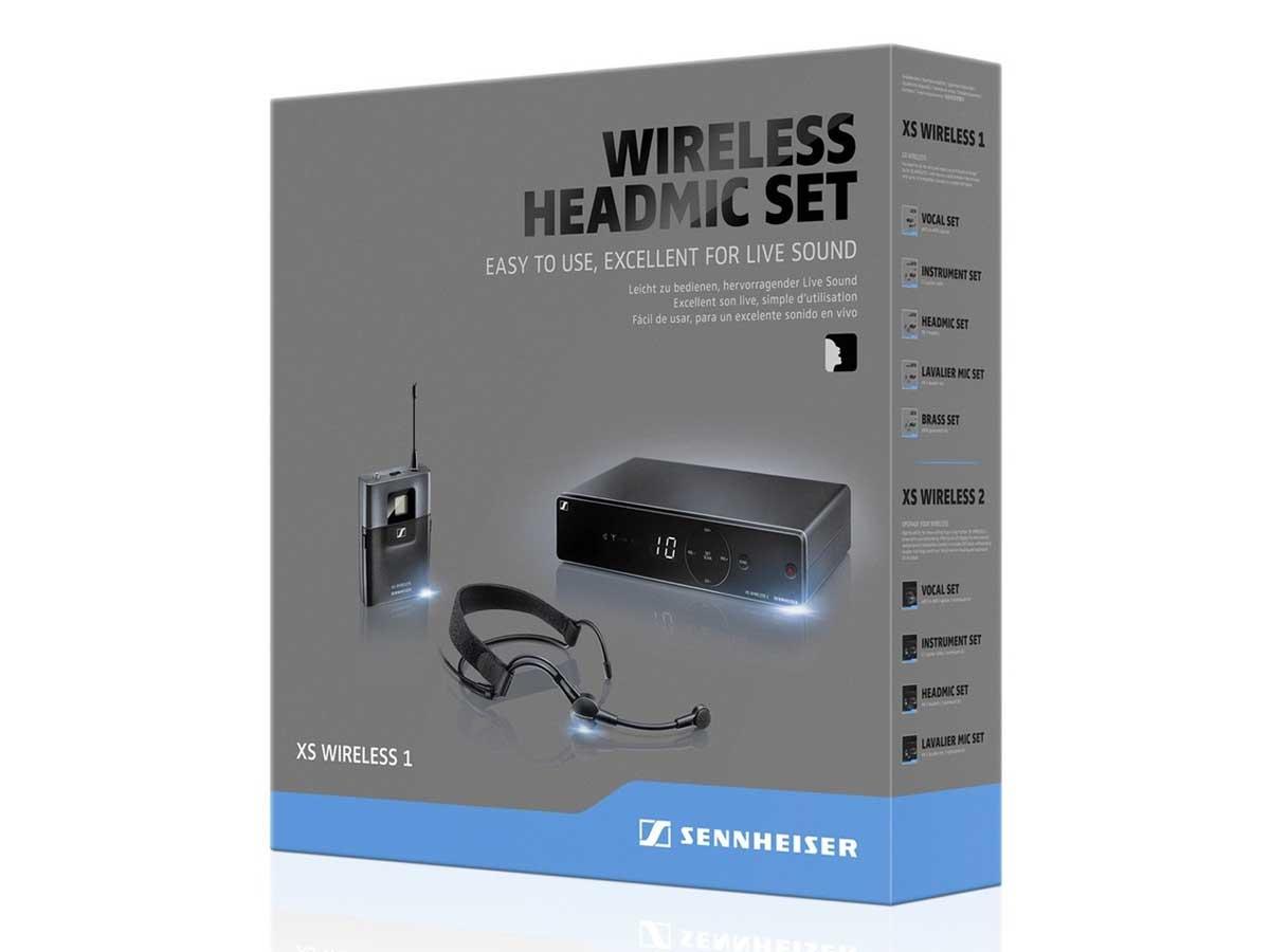 Microfone Sem Fio Auricular Sennheiser XSW 1-ME3-A