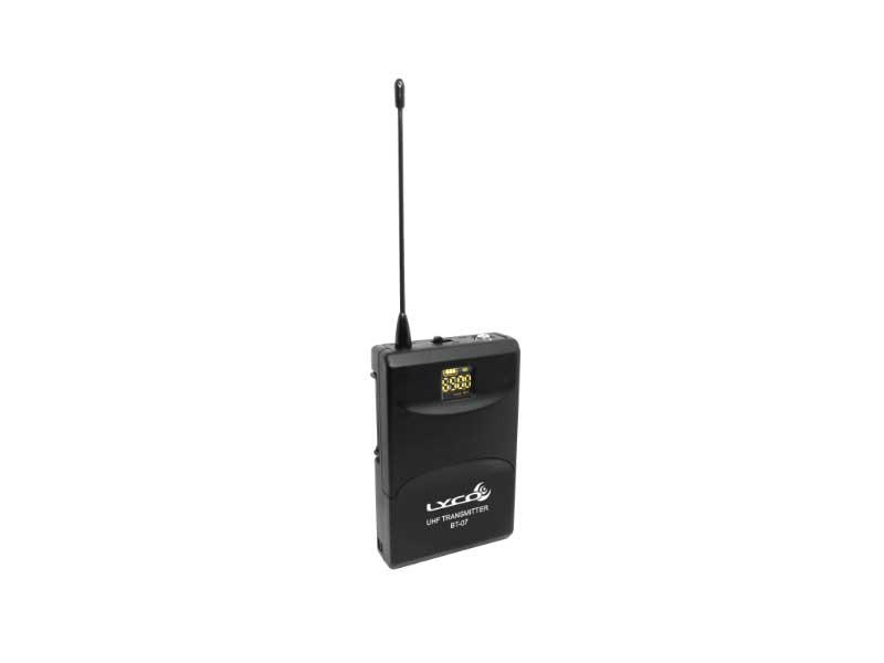 Microfone Sem Fio Lyco UH-07HLI Headset Lapela Instrumento