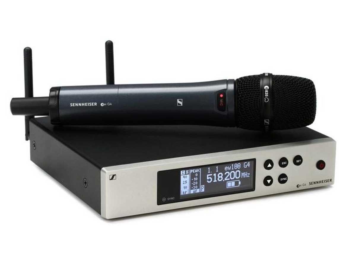 Microfone Sem Fio Sennheiser EW 100 G4 835 S Vocal Set