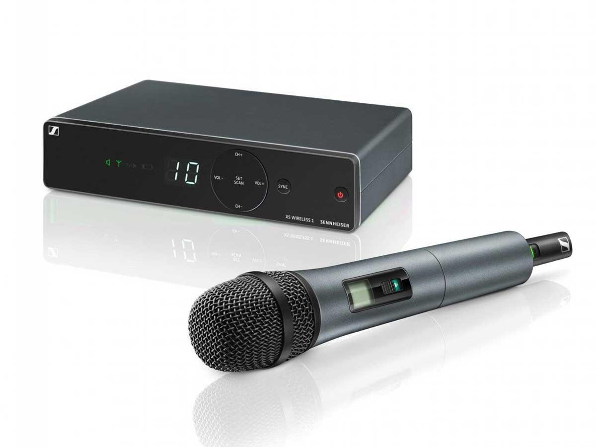 Microfone sem Fio Sennheiser XSW1 825 A Vocal Set