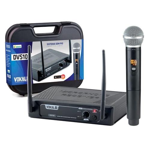 Microfone Sem Fio Vokal DVS100 SM