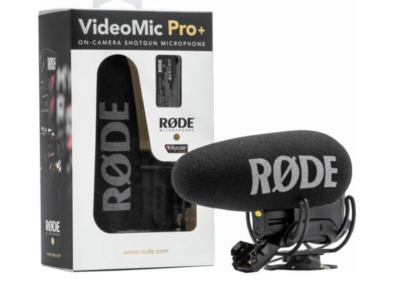Microfone Shotgun Rode Videomic Pro+ Plus '