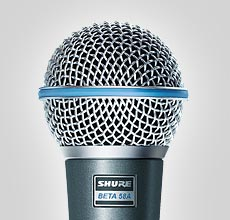 Microfone Shure Beta 58A '