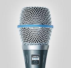 Microfone Shure Beta 87A