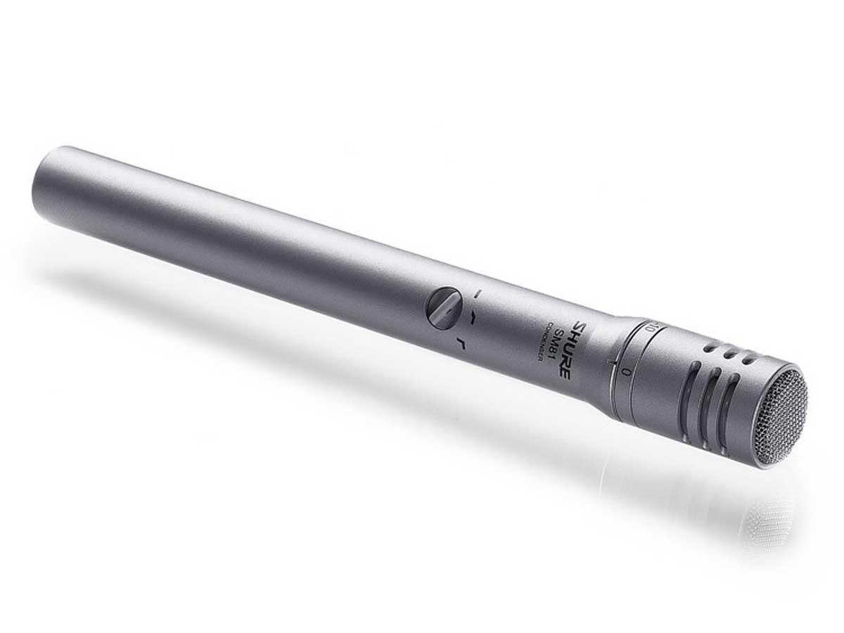 Microfone Shure Sm81 '