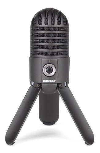Microfone USB Samson Meteor MIC Titanium Black