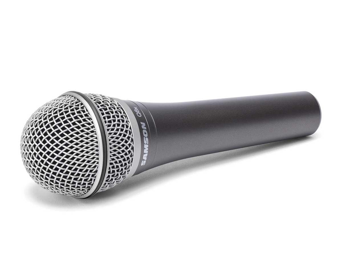 Microfone Vocal Dinâmico Profissional Samson Q8X