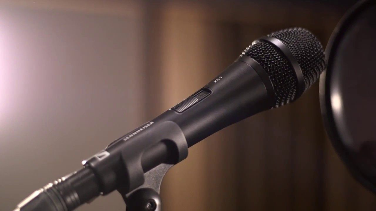 Microfone Vocal Dinâmico Sennheiser XS1 '