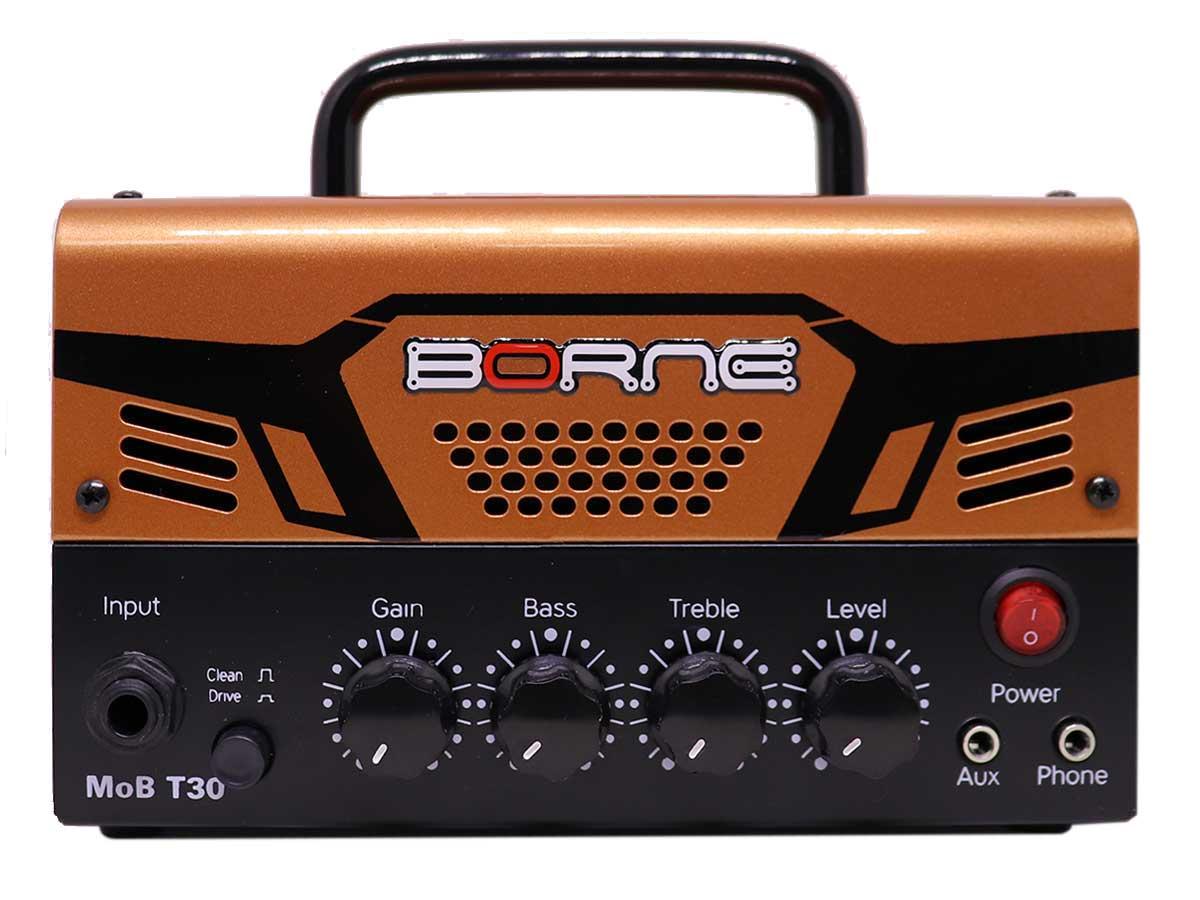 Mini Cabeçote Amplificador Borne MOB T30 30w