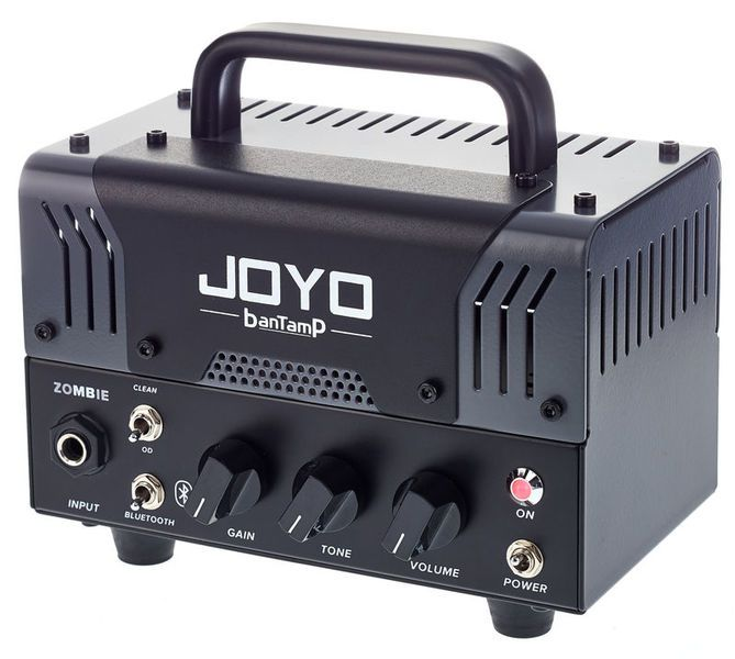 Mini Cabeçote Amplificador Joyo Zombie 20w Bantamp com Bluetooth