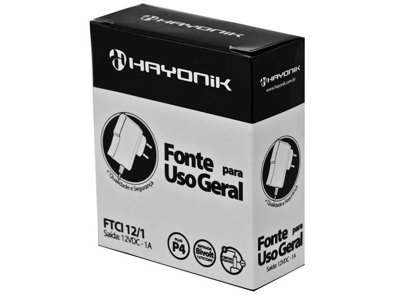 Módulo Pré Amplificador FM/USB/MP3/Bluetooth Hayonik MP3 1000BT