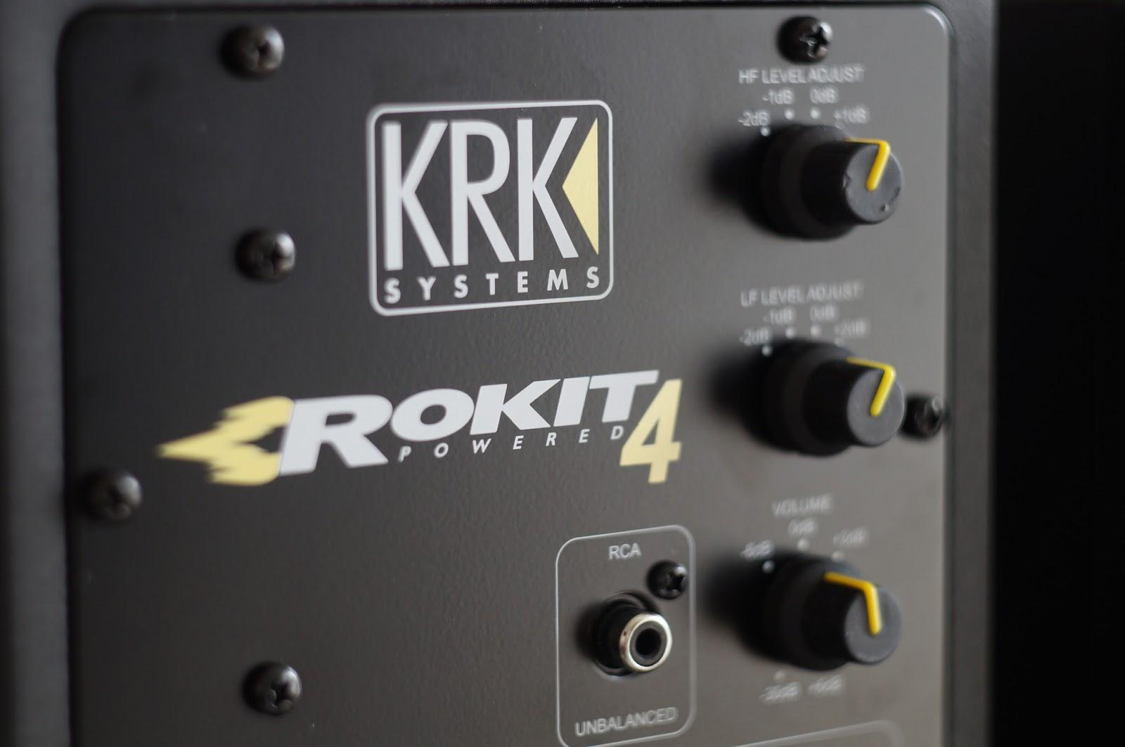Monitor de referência KRK Rokit RP4 - 3a Geração - 110v - O PAR