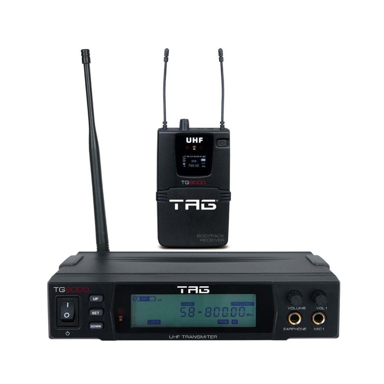 Monitor sem fio Tagima TG9000 - UHF com frequência variável