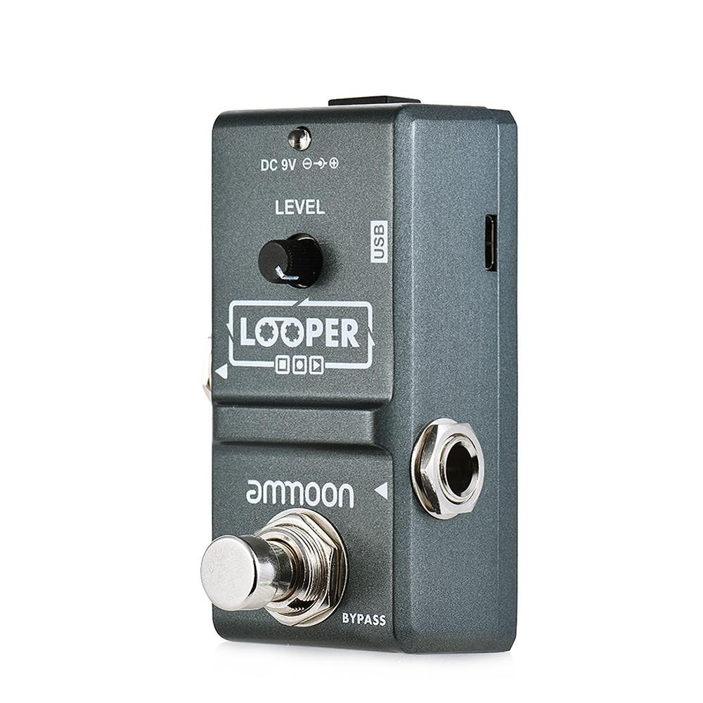 Nano Pedal Looper Ammoon - Grava 10 Minutos