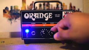 Orange Micro Dark 20w - Cabeçote Valvulado Para Guitarra 10380079 *