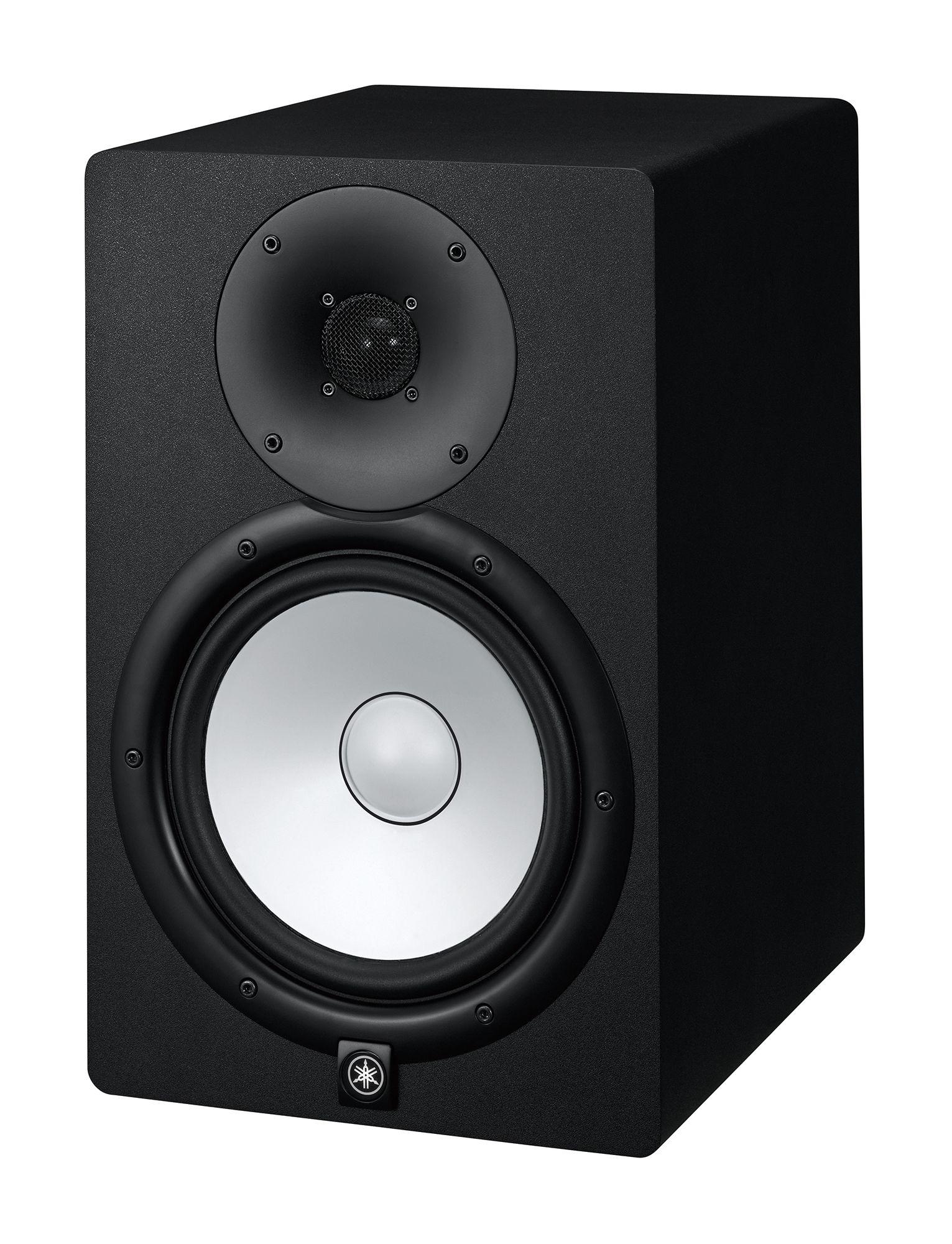 Par de Monitor de Referência para Estúdio Yamaha HS8 Preto