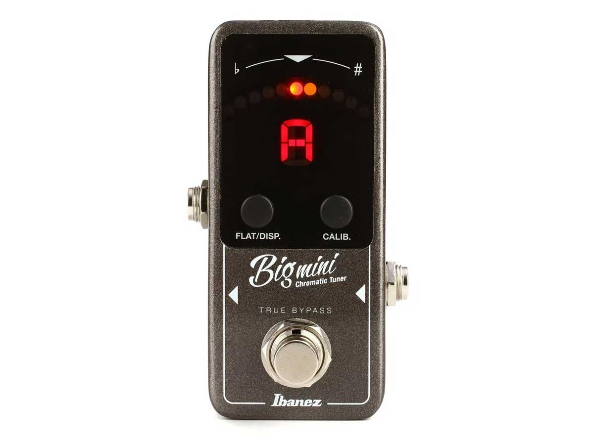 Pedal Afinador Ibanez Big Mini Chromatic Tuner