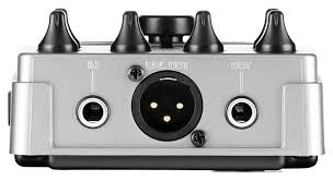 Pedal Baixo Behringer V-tone Bass Bdi21 Direct Box Di
