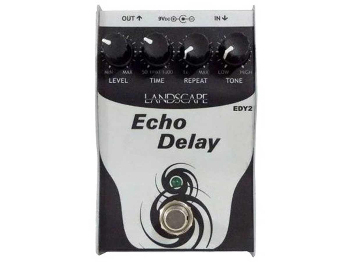 Pedal de Delay Landscape Echo Delay EDY 2