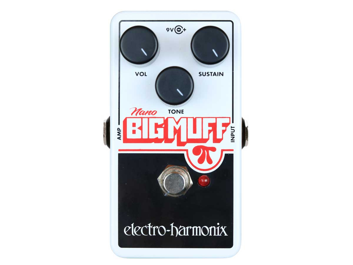 Pedal de Distorção e Fuzz Electro Harmonix Nano Big Muff Pi