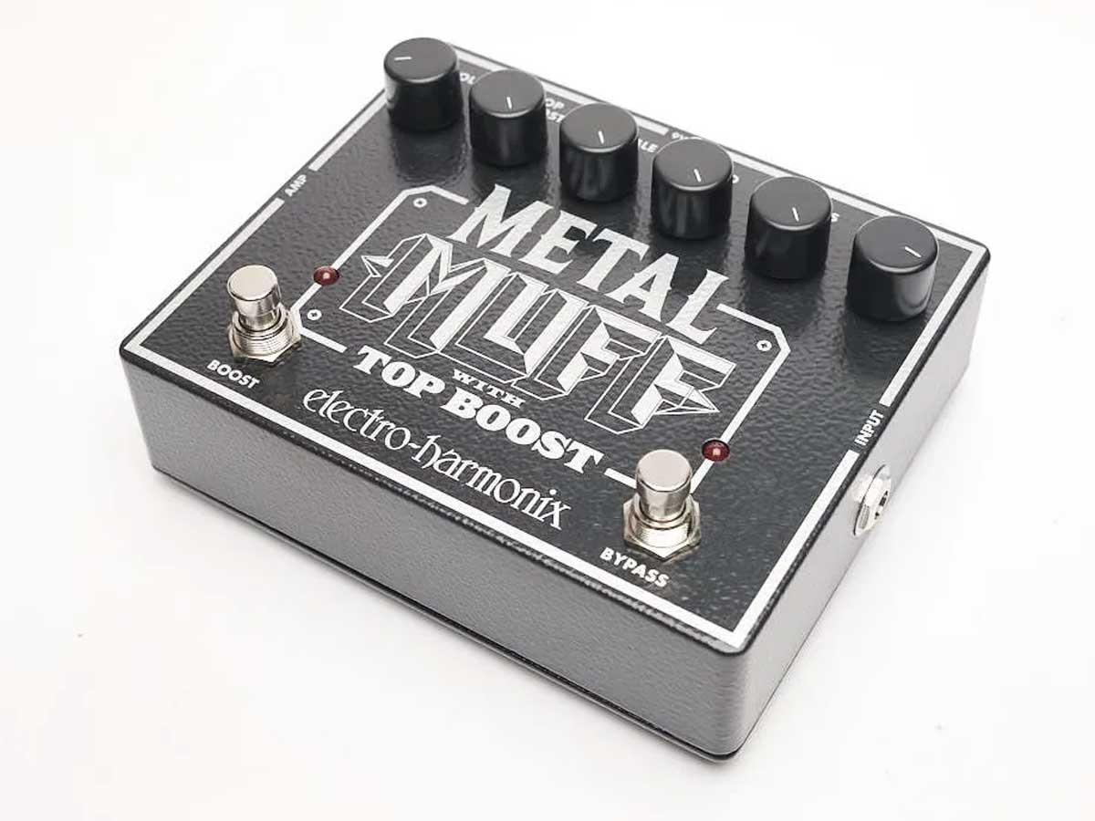Pedal de Distorção Electro Harmonix Metal Muff