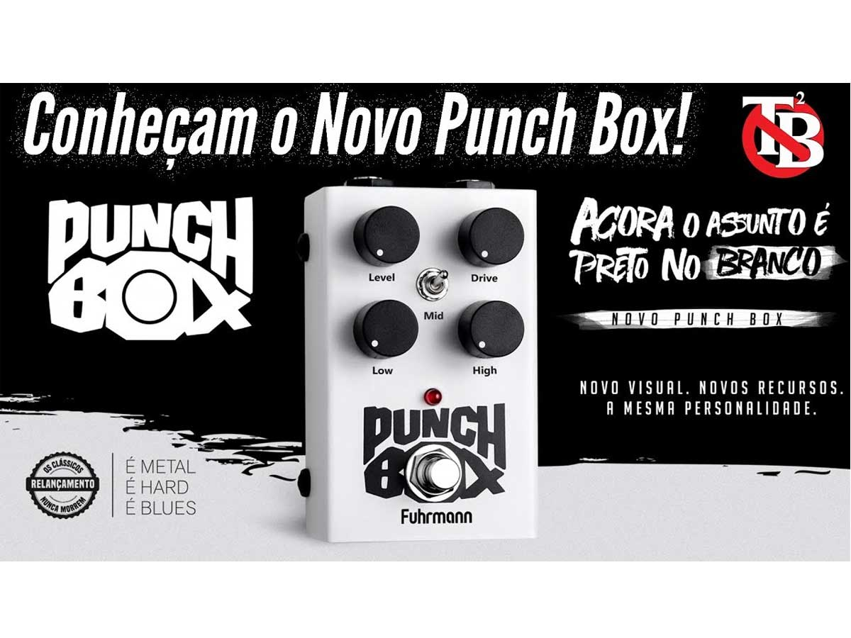 Pedal de Distorção Fuhrmann Punch Box 2