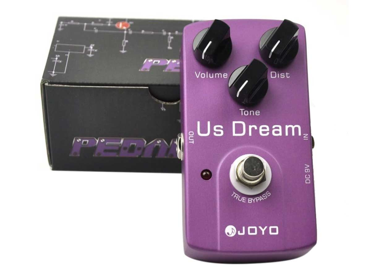Pedal de Distorção Joyo JF-34 US Dream