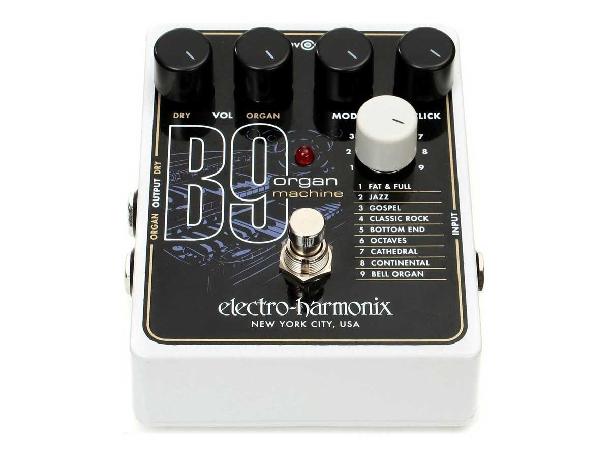Pedal Simulador de Órgão Electro Harmonix B9 Organ Machine